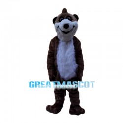 Plush Beaver Animal Mascot Costume