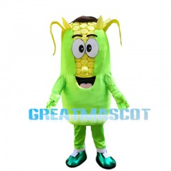 Deluxe Cartoon Corn Bud Mascot Costume
