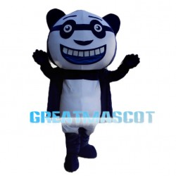 Funny Cartoon Panda Mascot Costume