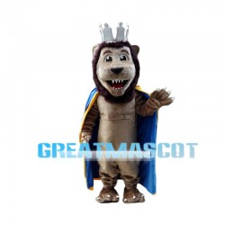 Happy Lion King Mascot Costume