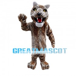Mighty Panther Mascot Costume