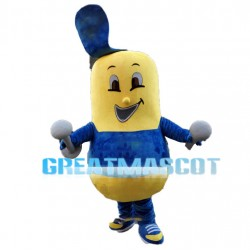 Adult Cartoon Barbell Mascot Costume