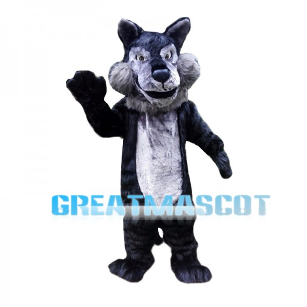 Almost Real Wolf Mascot Costume