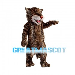 2nd Version Of Leopard Mascot Costume