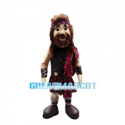 Scottish Highland Warrior Mascot Costume