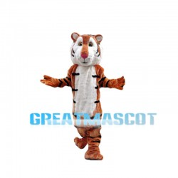 Well-behaved Tiger Mascot Costume