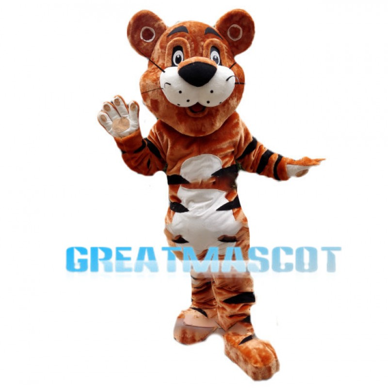 Haven Rory The Tiger Mascot Costume