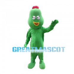 Sexy Cartoon Avocado Girl Mascot Costume