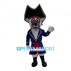 Friendly Lemur Pirate Mascot Costume