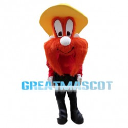 Friendly Yosemite Sam Mascot Costume