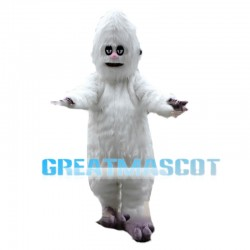 White Bigfoot Mascot Costume