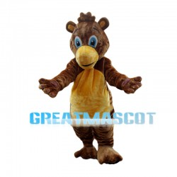 Brown Pony Mascot Costume