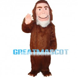 Friendly Bigfoot Mascot Costume