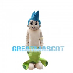 Energetic Bubble Guppy Gil Mascot Costume