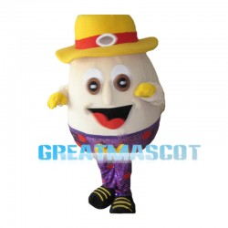 Deluxe Cartoon Cheer Easter Egg Mascot Costume