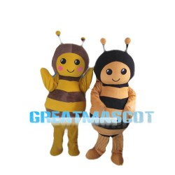 Sweet Cartoon Honeybee Mascot Costume