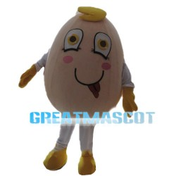 Naughty Cartoon Egg Mascot Costume