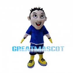 Athlete Man Mascot Costume