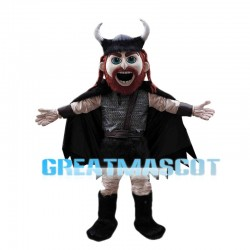 Howling Viking Man Mascot Costume