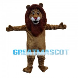 Amiable Asian Lion Mascot Costume