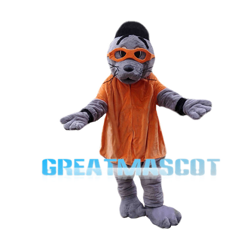 Hipster Sea Lion Mascot Costume