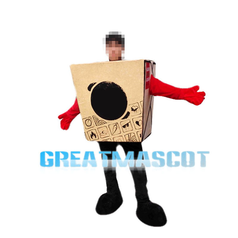 Huge Food Packaging Box Mascot Costume