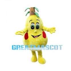 Huge Cartoon Pear Mascot Costume