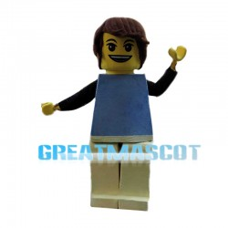 LEGO Handsome Guy Mascot Costume