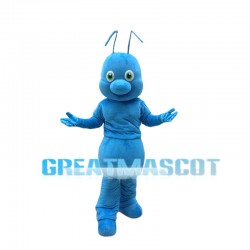Lovely Blue Ant Mascot Costume