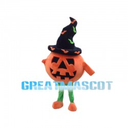 Happy Halloween Pumpkin Mascot Costume