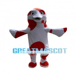 Cheery Koi Fish Mascot Costume