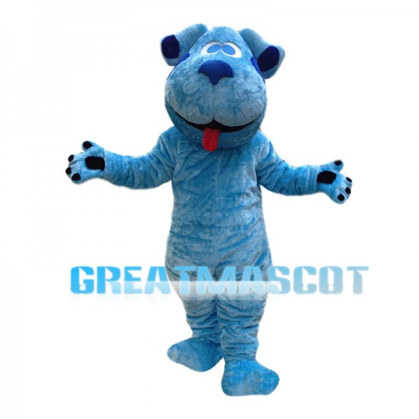 Lovely Blue The Blue-spotted Dog Blue's Clues Mascot Costume