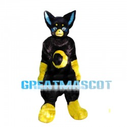 New Custom Made Fantasy Black Cat Mascot Costume