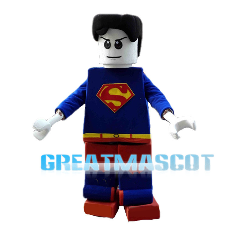 LEGO Superman Mascot Costume