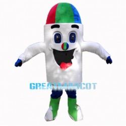 Funny Cartoon Colorful Pen Mascot Costume