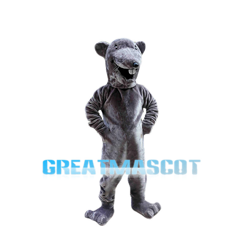 Screaming Beaver Mascot Costume