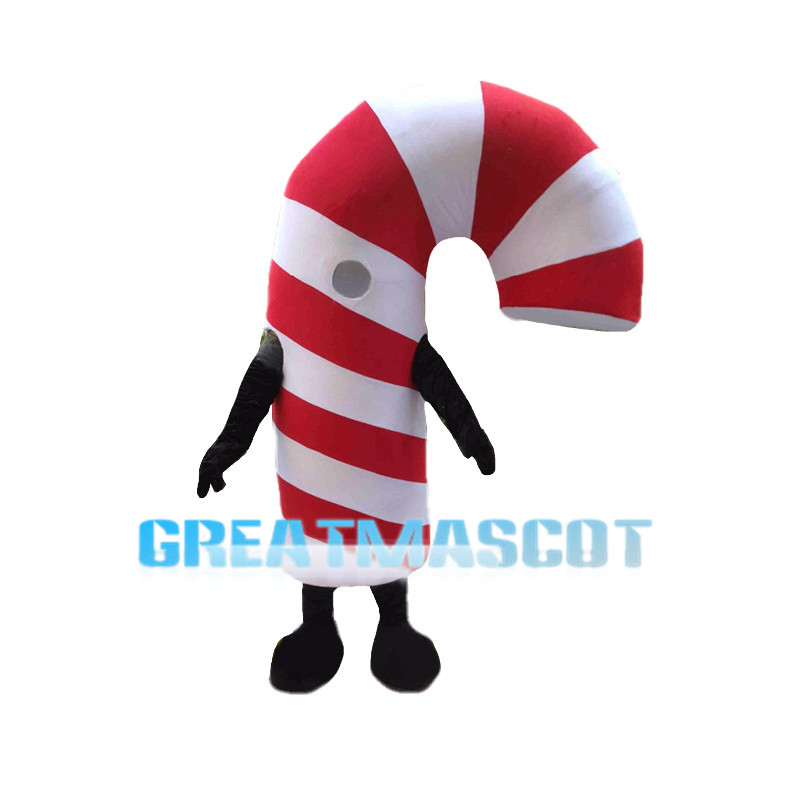 Deluxe Candy Cane Mascot Costume