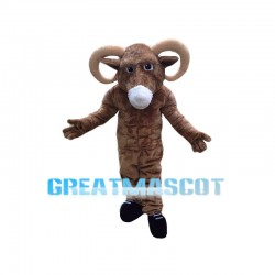 Power Ram Animal Mascot Costume