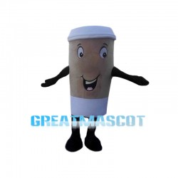 Huge Takeaway Coffee Cup Mascot Costume