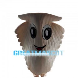 Deluxe Cartoon Scallop Mascot Costume