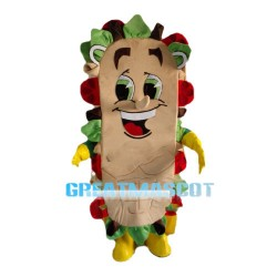 Good Looking Cartoon Sandwich Mascot Costume