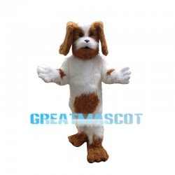 Almost Real Cavalier King Charles Spaniel Dog Mascot Costume