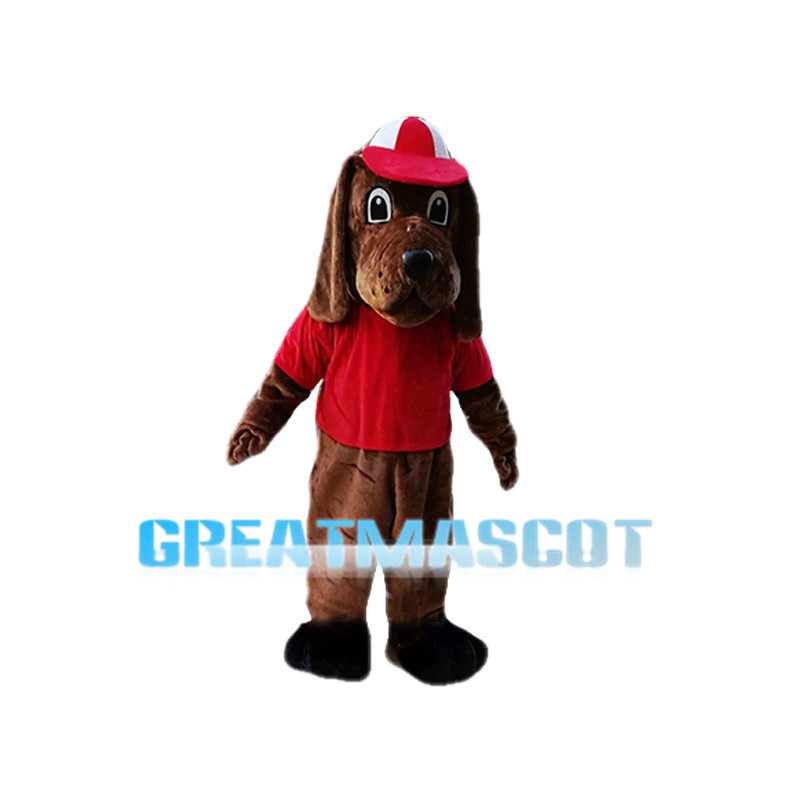 Field Beagle Dog School Mascot Costume