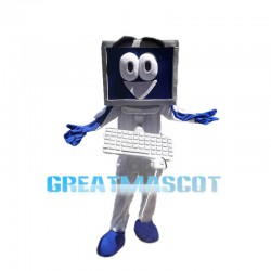 New Cartoon Assembling Computer Mascot Costume