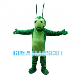 Green Grasshopper Animal Mascot Costume