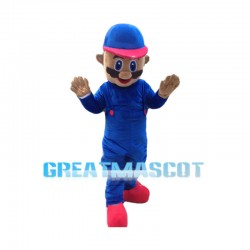 2nd Version Of Super Mario Mascot Costume