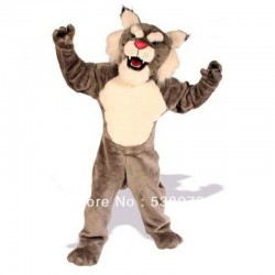 High Quality Bobcat Cheap Mascot Costume