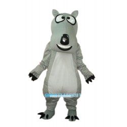 Backkom Bear Mascot Adult Costume