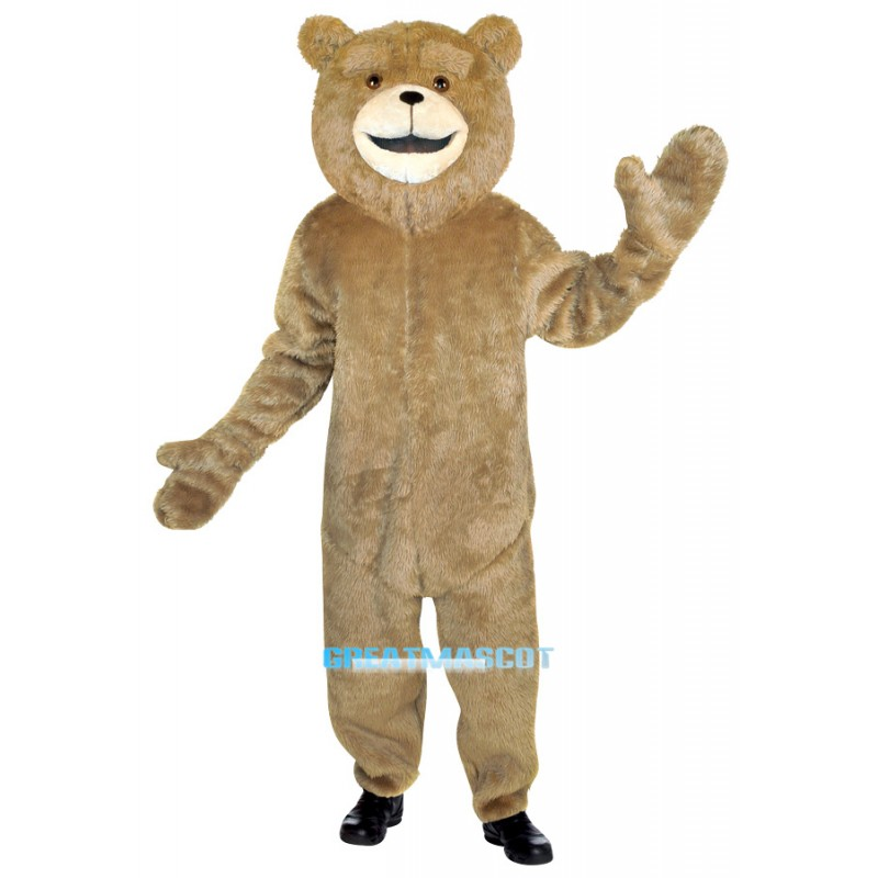 Ted Jumpsuit Mascot  Costume