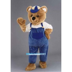Plush Teddy Bear Costume Mascot
